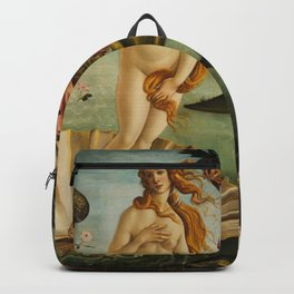 The Birth Of Venus Sandro Botticelli Painting Backpack