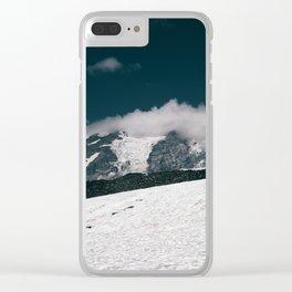 Mount Rainier VI Clear iPhone Case