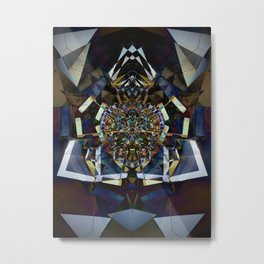 Digital Dada Metal Print