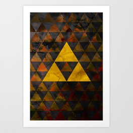 Ganondorf Geometry Art Print