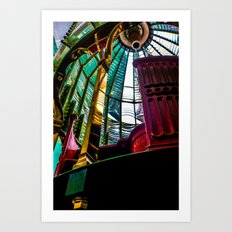 Lighthouse prisms Art Print