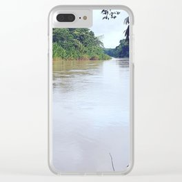 Amazonian River Clear iPhone Case