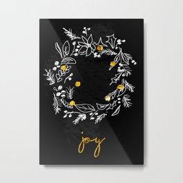 Joyof Christmas Metal Print