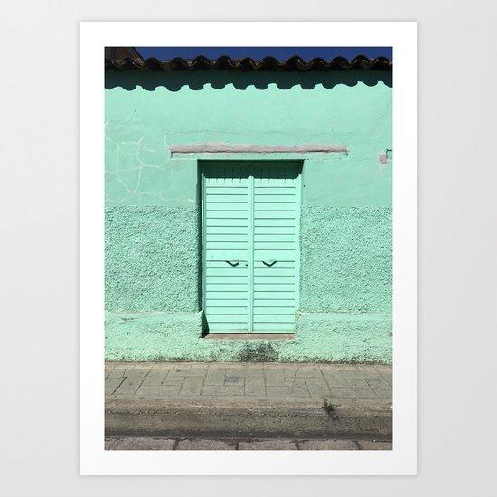Mint Door (San Cristóbal, Chiapas, Mexico) by xhico