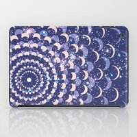 moon phases iPad Cases featuring Moon Phases by Cina Catteau