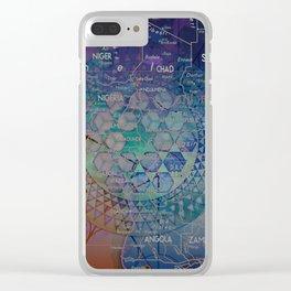 Dark Nexus Clear iPhone Case