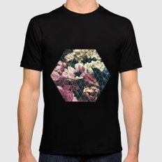 Spring Geometry SMALL Mens Fitted Tee Black