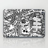 boxing iPad Cases featuring Boxing inspiration by JessicArt