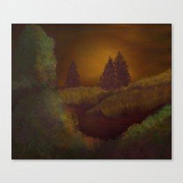 Ebony Dawn Canvas Print