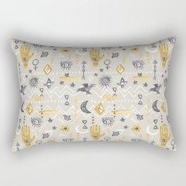 Mystic, Third Eye, Palmistry Rectangular Pillow