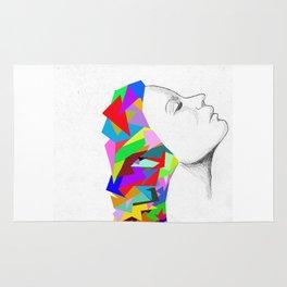 colorful mind Rug