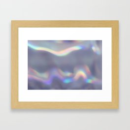 holographic Framed Art Print