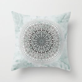 ICELAND MANDALA Throw Pillow