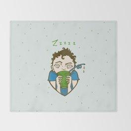 Zzzzz Throw Blanket