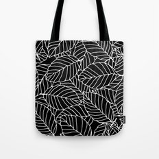 Sweet leafs: Black Tote Bag