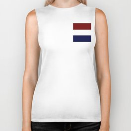 Team Colors 8....Maroon , navy and white Biker Tank
