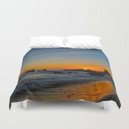 Little Corona Sunset Duvet Cover