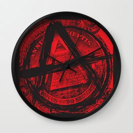 The Great (Anarchy) Seal Wall Clock