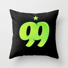 99 Throw Pillow