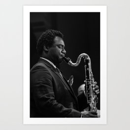 Myron Walden from the Brian Blade and the Fellowship Band. XII Panama Jazz Festival Art Print