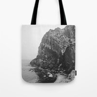 island Tote Bags featuring Island by Laura O'Connor