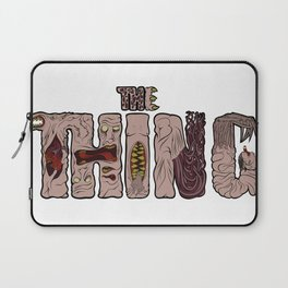 The thing lettering Laptop Sleeve