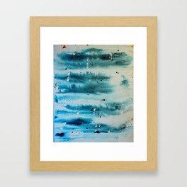 Dead Snow Framed Art Print