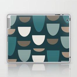 Turquoise Bowls Laptop & iPad Skin