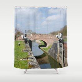 Lock 17 Shower Curtain
