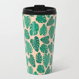 Cheese Plant - Trendy Hipster art for dorm decor, home decor, ferns, foliage, plants Travel Mug