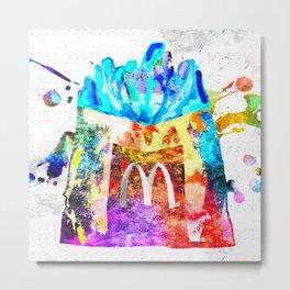 McDonald's Fries Metal Print