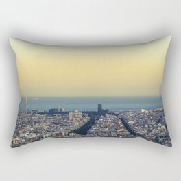 Barcelona view Rectangular Pillow