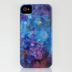 Blue Grotto Abstract Painting  iPhone (4, 4s) Slim Case