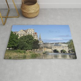 Poulteney bridge Bath 1 Rug