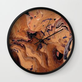 Down the sandpit Wall Clock