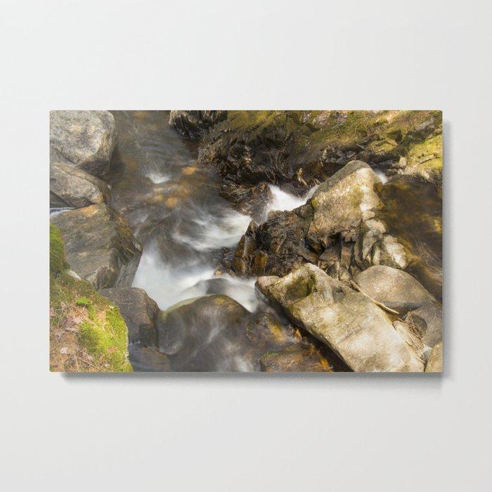 Above Jimmy Creek Falls Metal Print