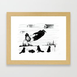 Into The Dream Framed Art Print