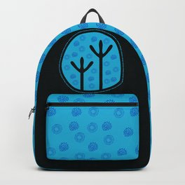 Emu Tracks Australian Aboriginal Style 2 Backpack