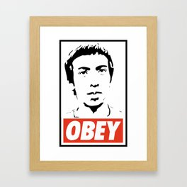 OBEY JACKSON Framed Art Print