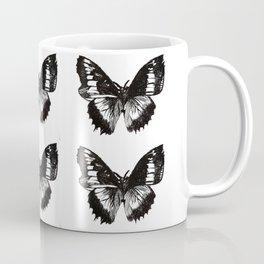 Butterfly Etch. Coffee Mug