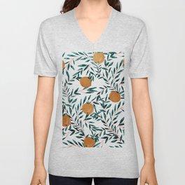 Mandarins Unisex V-Neck