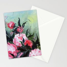 Pivoines malgré tout Stationery Cards
