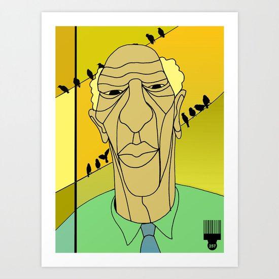 1001 Black Men--#257 Art Print