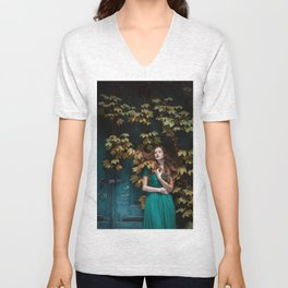 Autumn beauty Unisex V-Neck