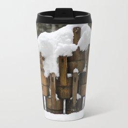 Kyoto Winter 2015 III (water buckets)  Travel Mug