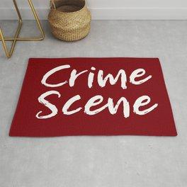 Crime Scene - Red Rug