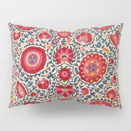 Kermina Suzani Uzbekistan Embroidery Pillow Sham