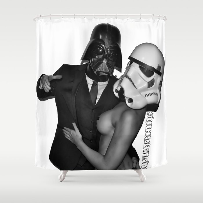 Vader's Favorite Shower Curtain