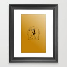leonardo guitar Framed Art Print