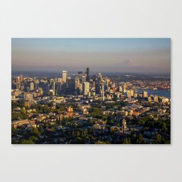 Hello Seattle! Canvas Print